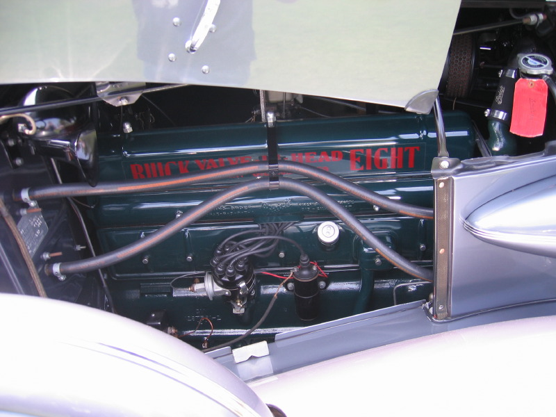 1940 Buick Super 81C Flat Head Inline Eight