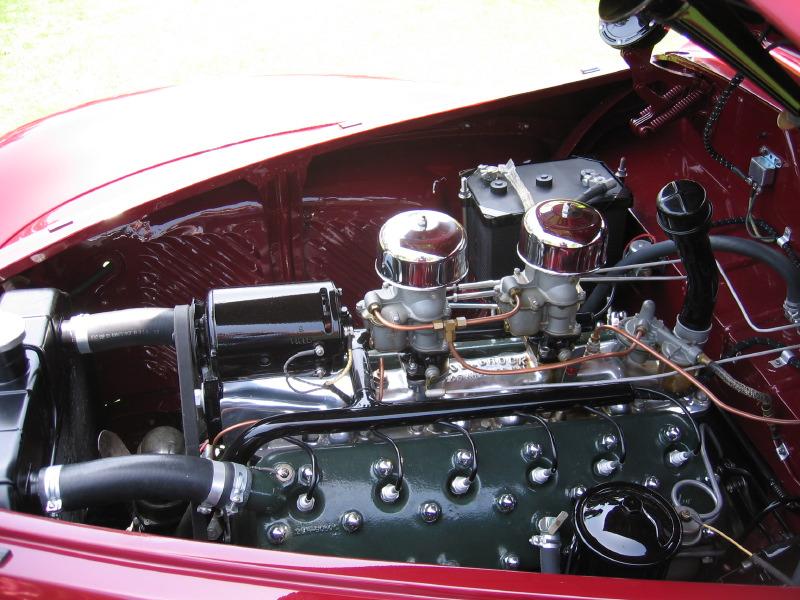 1940 Lincoln Zephyr V-12 Convertible