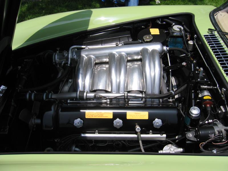 1955 Mercedes Benz 300SL Gullwing motor