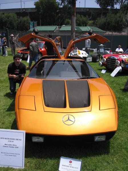 1970 Mercedes Benz C111 II Concept