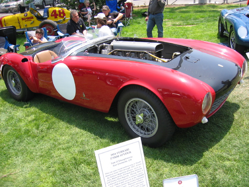 1975 Ferrari 375MM Spyder Racecar