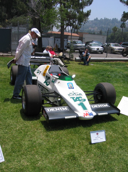 1983 FWOIC Williams Formula1 Car