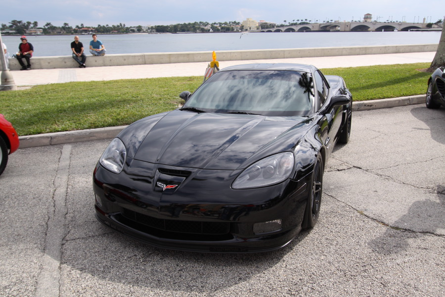 Chevrolet Corvette Black Nice view