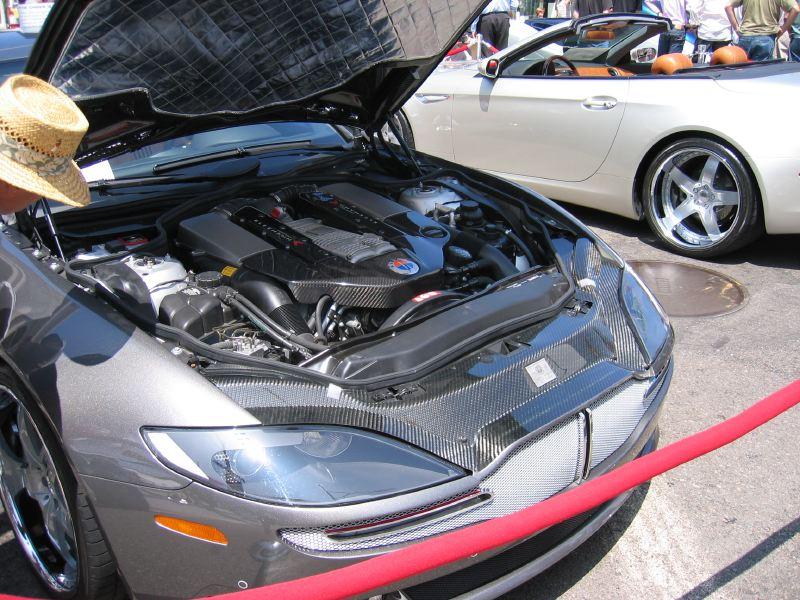 Fisker Tramonto Rear Engine