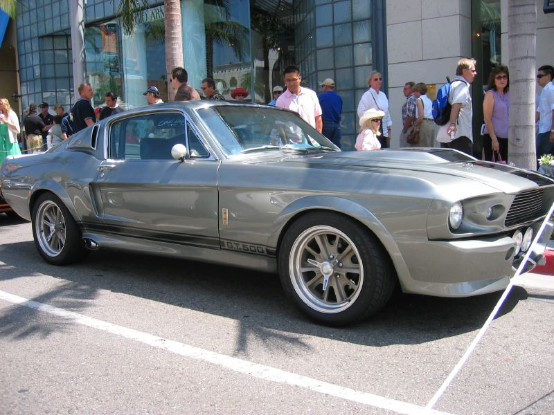 Shelby GT500 Eleanor Side