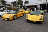 Highlight for Album: Lamborghini Miami Keys run (10-15-2011)