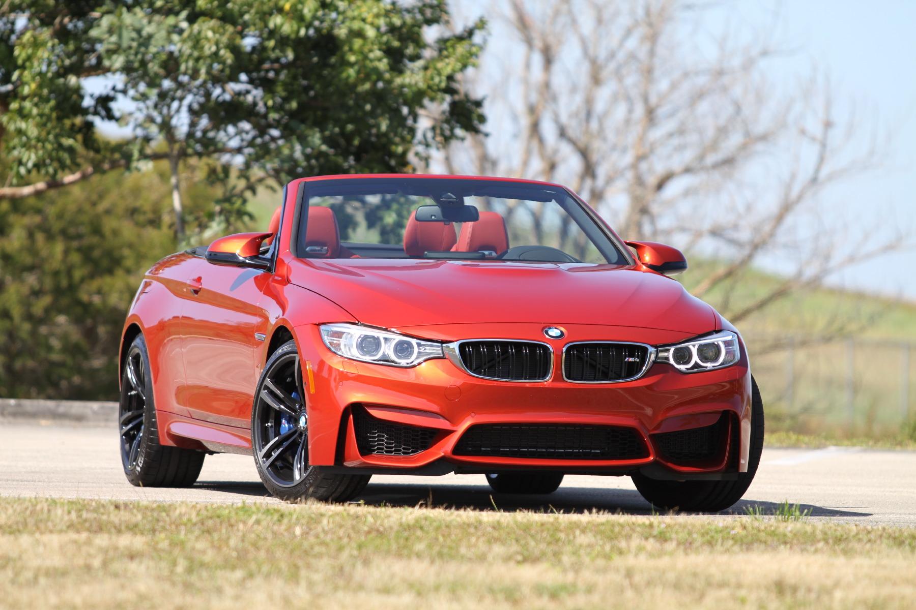 BMW M Convertible Mile MPH Testing DragTimescom - 2015 bmw m4 convertible price