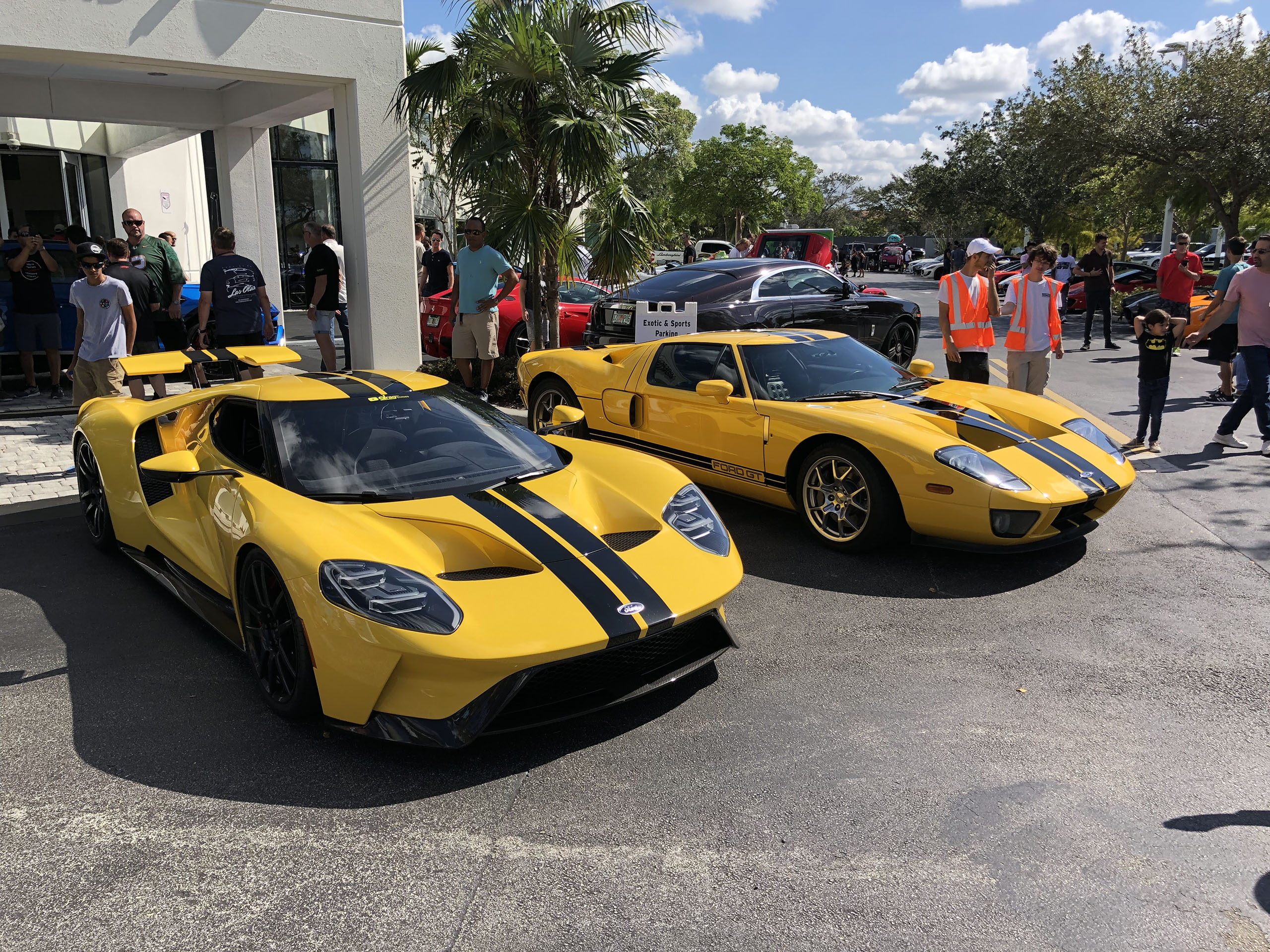 Ford Gt Triple Yellow And  Ford Gt Speed Yellow Photo Gallery