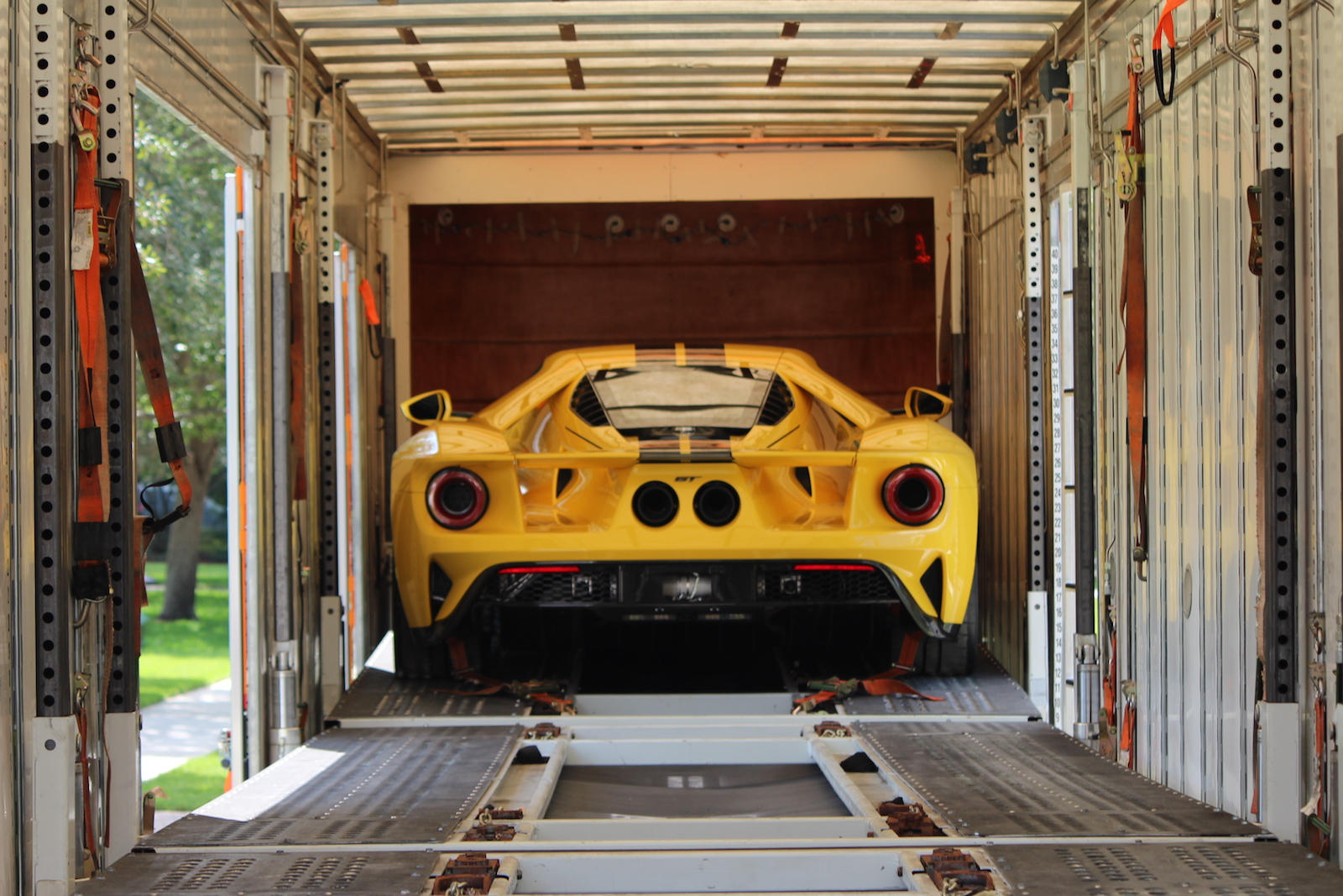 The new Ford GT is HERE! 2018 Ford GT Delivery at ...