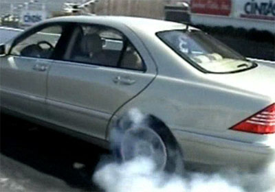2003 Mercedes-Benz S600 on Nitrous Drag Racing
