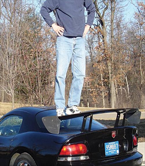 Dodge Viper ACR Rear Wing