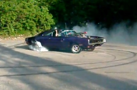 Video Dodge Charger Burnout Dragtimes Com Drag Racing