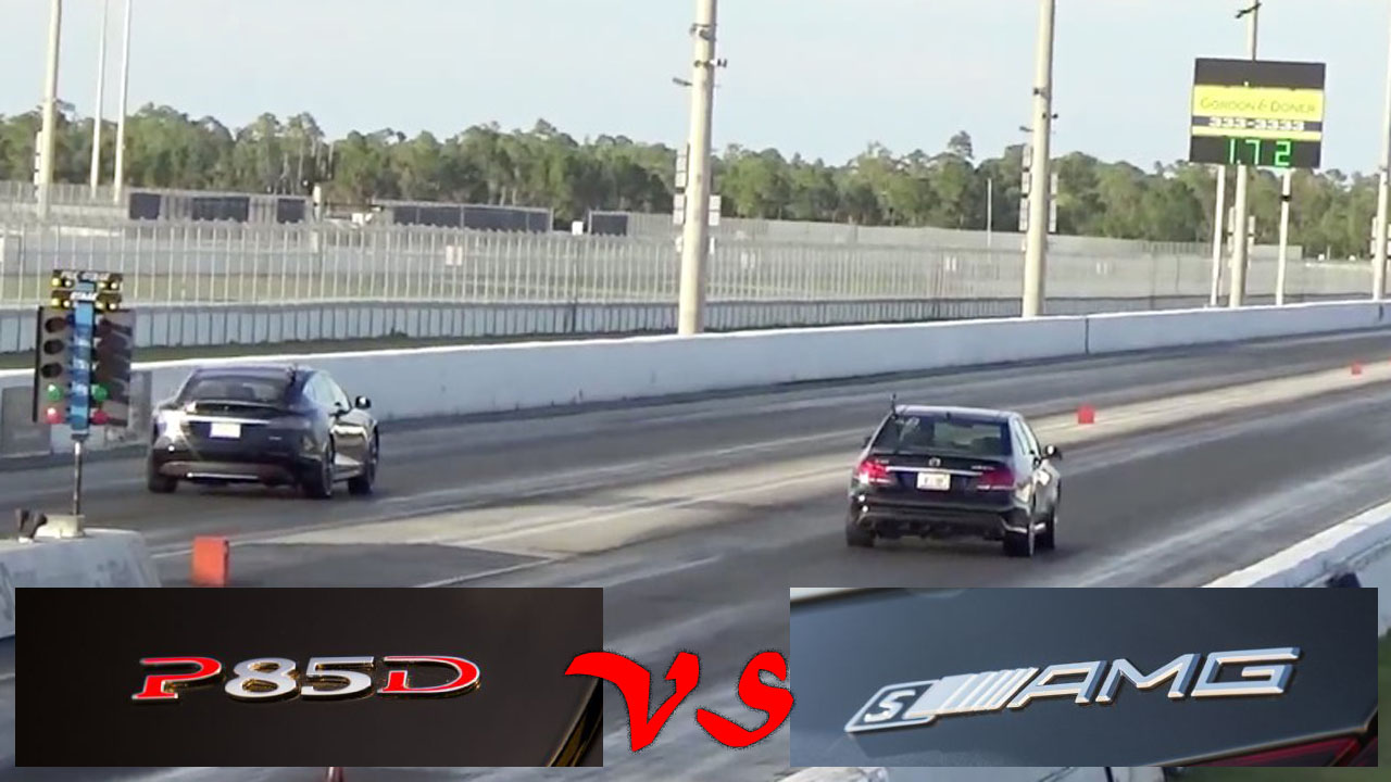 Tesla-Model-S-P85D-vs-Mercedes-E63s-AMG