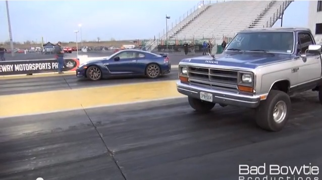 Dodge Ram Kills GT-R