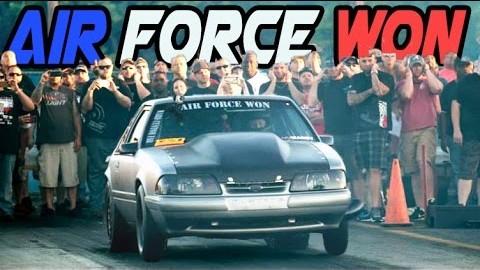 1000HP Air Force Won wins 3 Consecutive No Prep Events