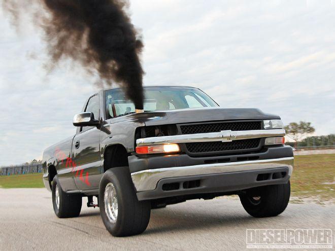 Overkill 1700HP Diesel Drag Truck