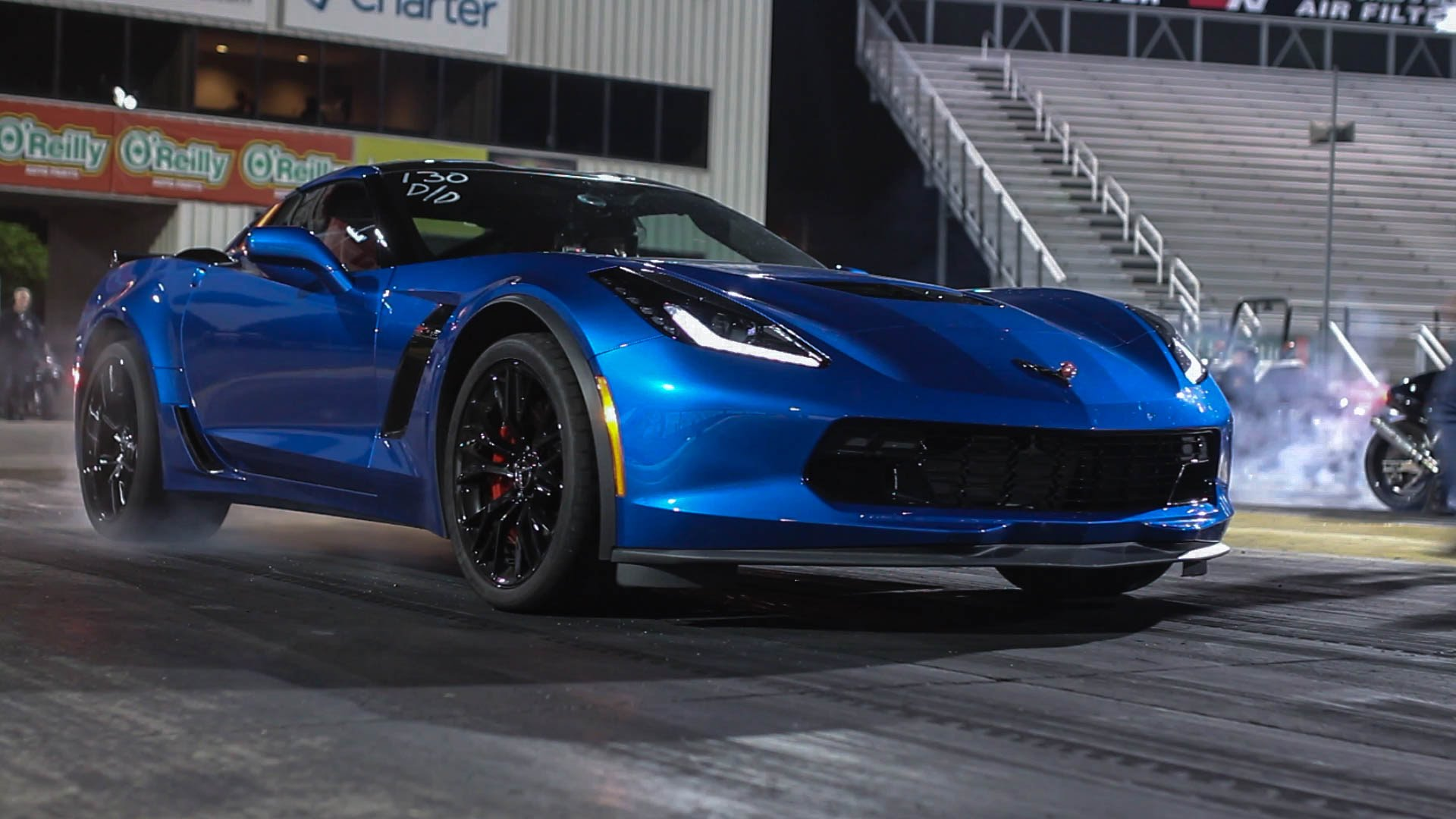 Woman Runs 10-Second Passes in Stock Corvette Z06