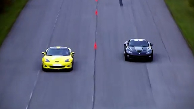 Corvette ZR1 LPE vs Supercharged Viper SRT10