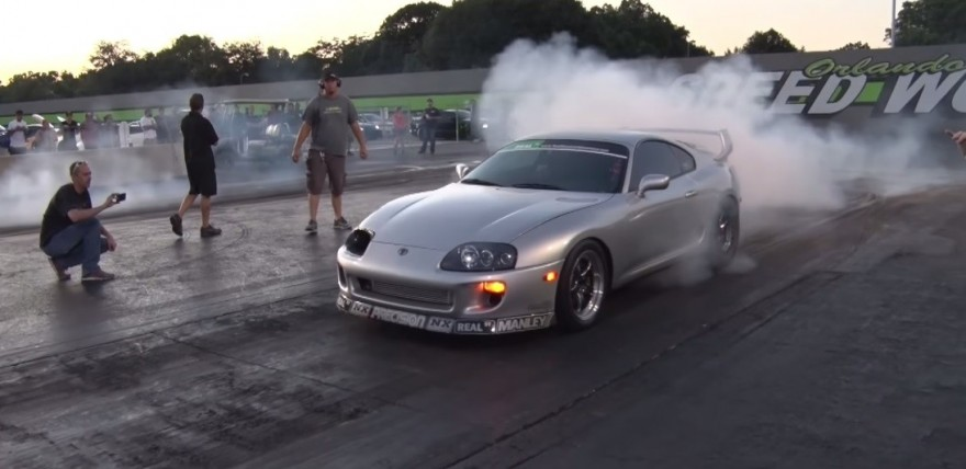 Real Street 1 400hp Toyota Supra Vs The World Dragtimes Com Drag Racing Fast Cars Muscle