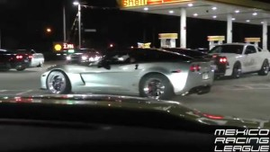 Late Model Corvettes Street Racing