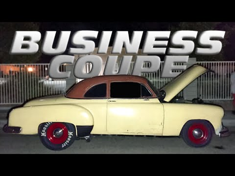 Street Racing 1951 Chevy Business Coupe