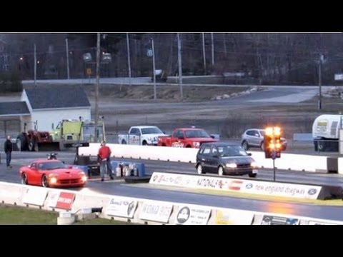 Turbocharged Minivan Edges GT-R and Viper in the 1/4-mile