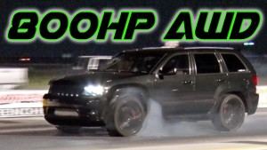 Drag Racing 800HP AWD Jeep SRT8