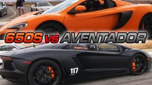 McLaren 650S VS Lamborghini Aventador