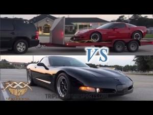 Street Race Corvette Chaos