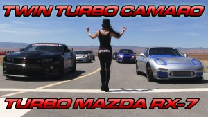 Twin Turbo Camaro vs Turbo LS9 RX-7