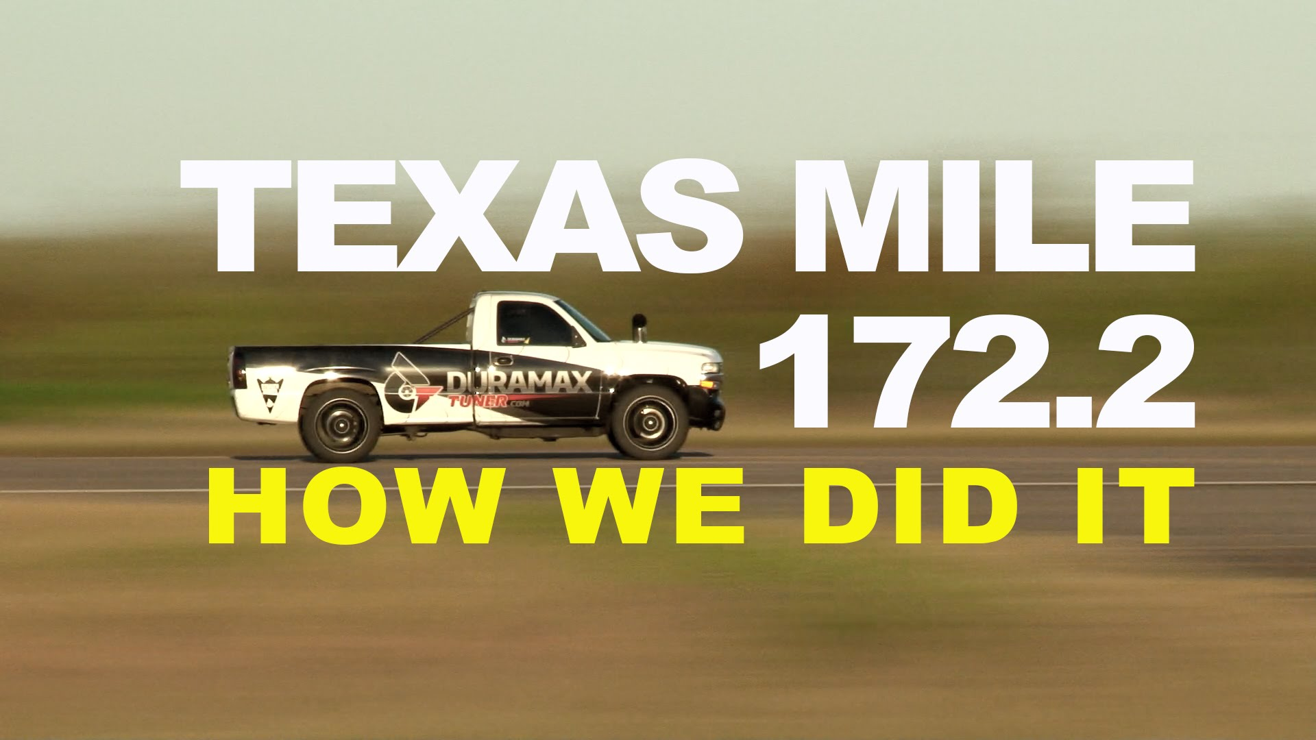 World's Fastest Diesel Pickup 172MPH Duramax