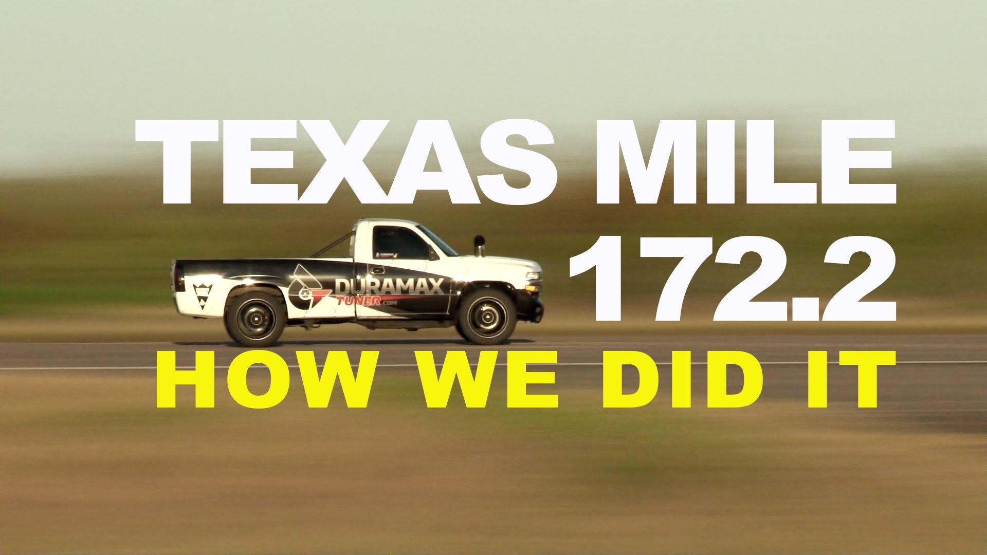 worlds Fastest Diesel Pickup 172MPH Duramax