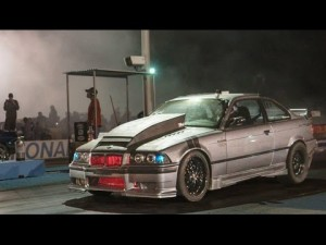 Blown Bowtie Beamer Drag Racing