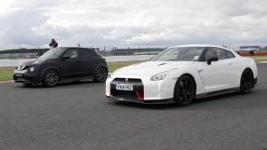 Nissan Roll Racing Challenge - GT-R Nismo vs Juke-R 2.0