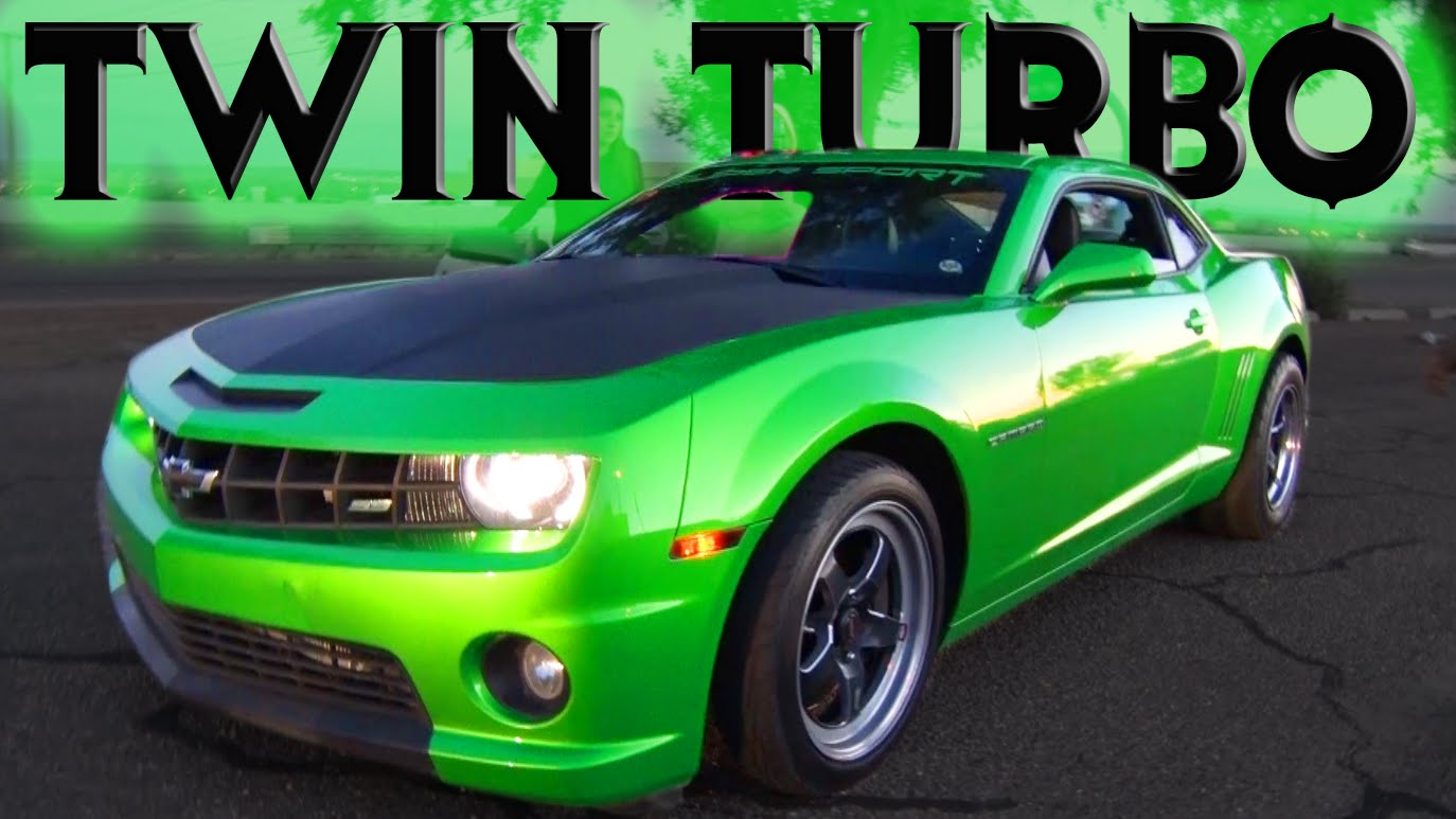 Street Envy – 750hp TT Green Camaro