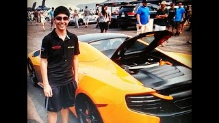 Tenacious 12-Year Old Pushes McLaren 650S to 163 MPH!