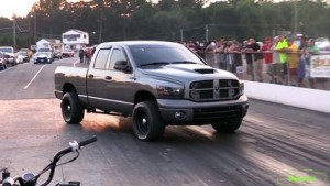 Three-and-a-Half-Ton Ram 1500 Eats Sports Cars  2