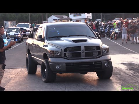 Three-and-a-Half-Ton Ram 1500 Eats Sports Cars