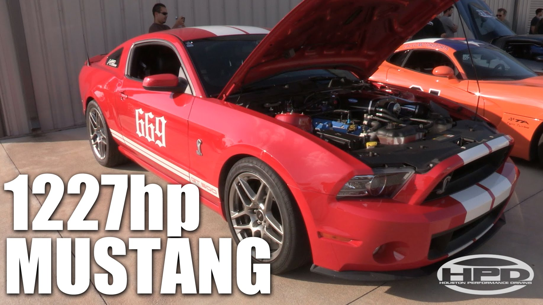 1200HP Shelby GT500 Dyno Run