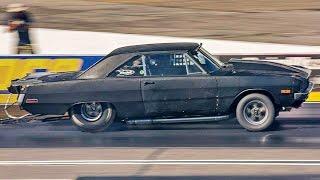 1500HP TT Dodge Dart Swinger Runs 7-Second Quarter-Mile