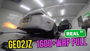 1600WHP Supra Street and Dyno