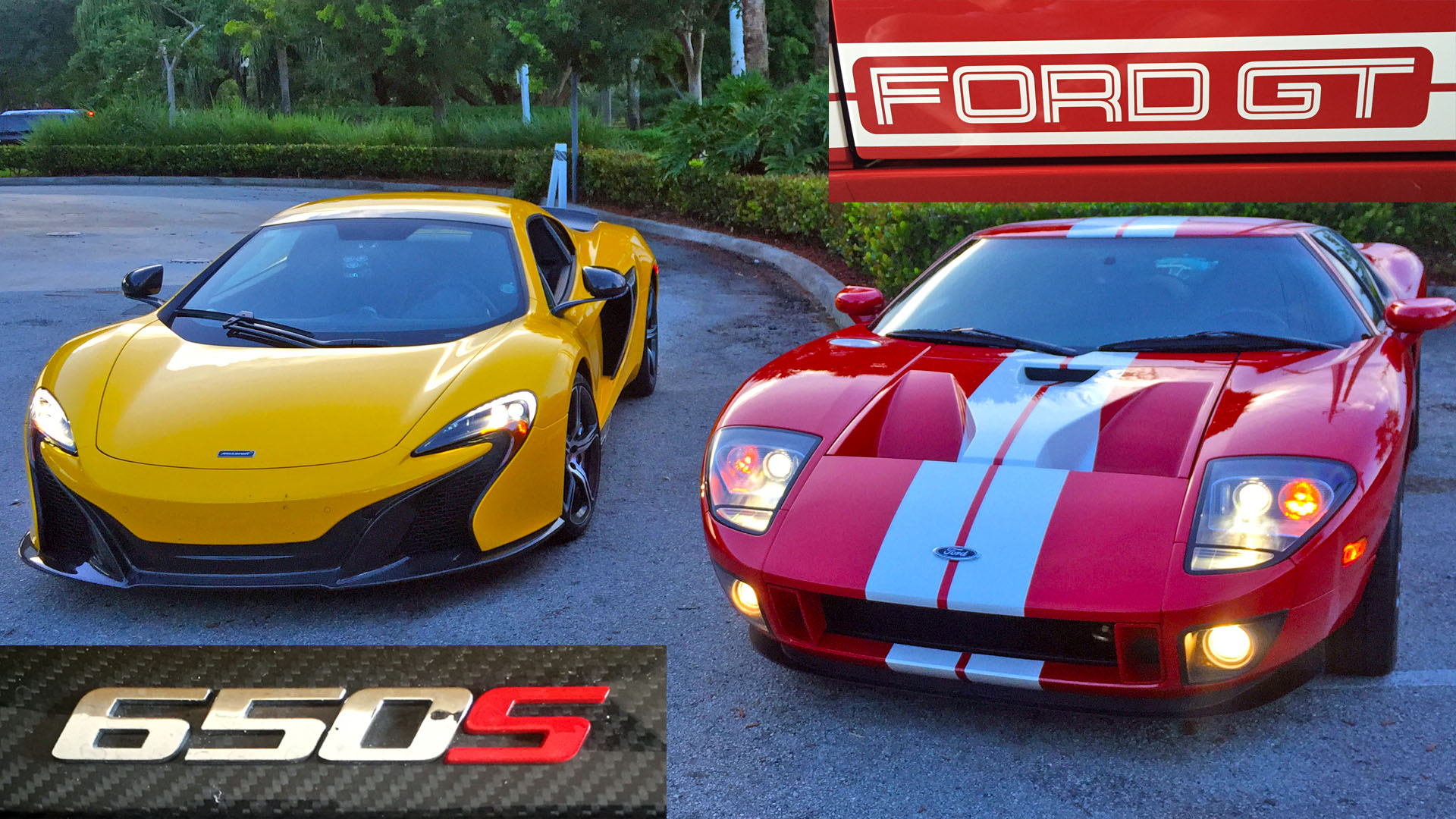 700HP Ford GT races 641HP McLaren 650S