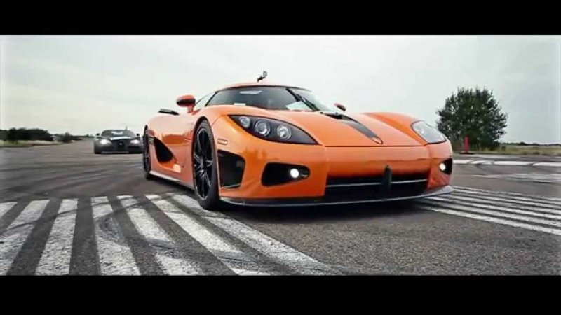 bugatti vs koenigsegg roll racing drag. Black Bedroom Furniture Sets. Home Design Ideas