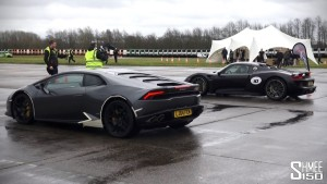Drag Racing Huracan vMax Stealth vs 918 Spyder