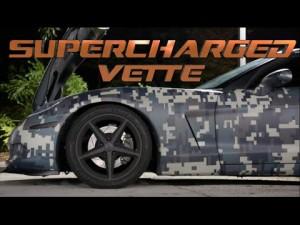 Street Racing Breakup Camo Vette vs DriverMods Viper