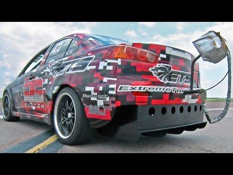 1000HP EVO X Runs 198 MPH