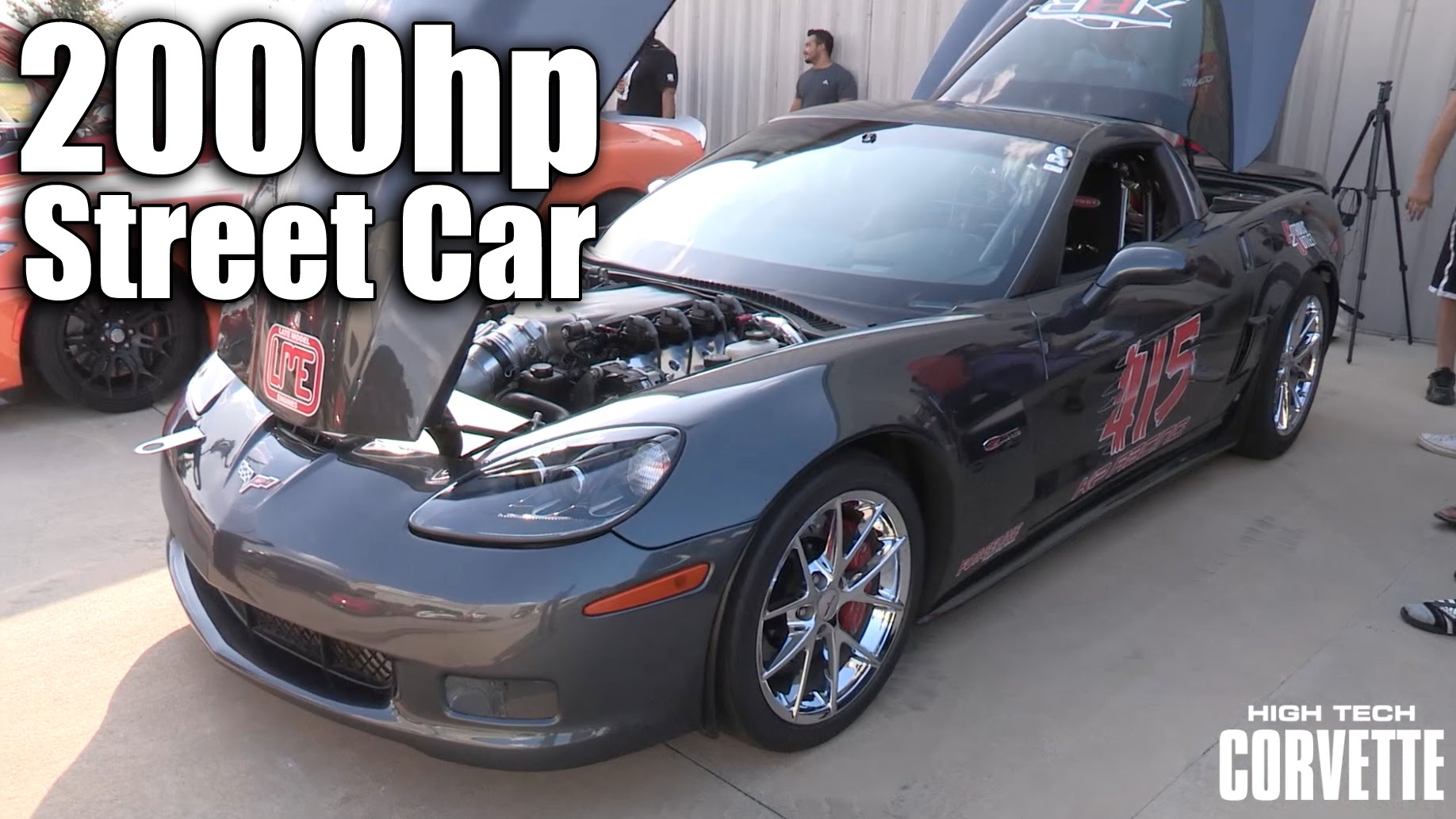 2000HP Texas Mile Corvette Z06