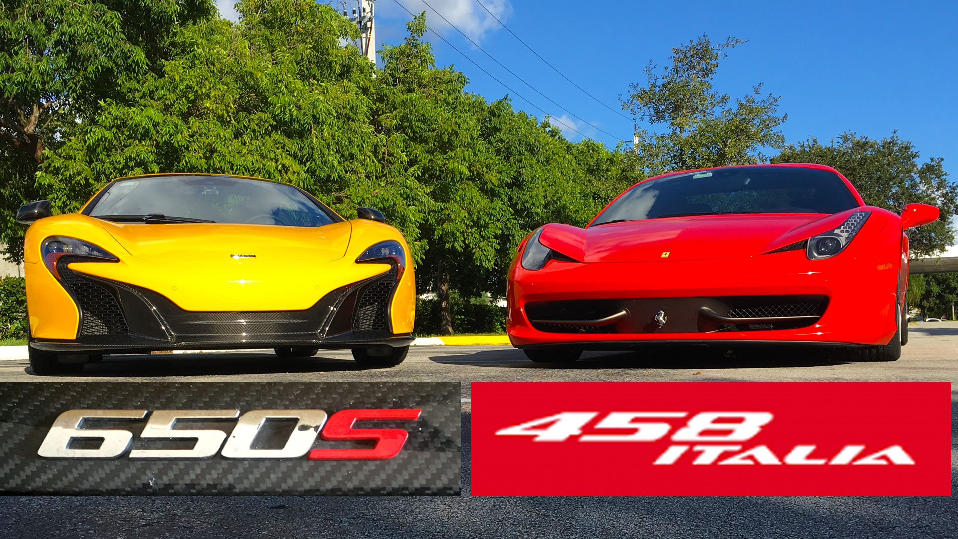 McLaren-650S-vs-Ferrari-458 Mesmerizing Porsche 911 Turbo Vs Z06 Cars Trend