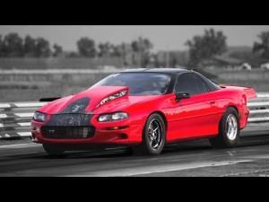 Turbocharged Camaro Tears Up No Prep Event