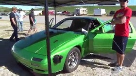Twin Turbo Mazda RX-7 Turns 8.1-Second Quarter-Mile 01